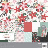 Peppermint Kisses Paper Pack with Bonus Stickers