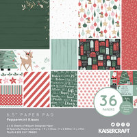 "Peppermint Kisses 6.5"" Paper Pad"