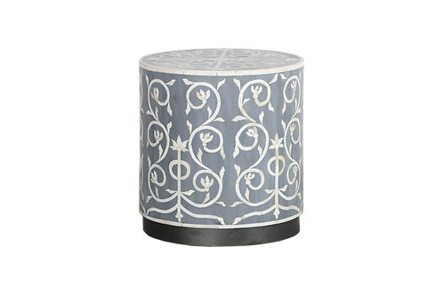 Orion Bone Inlay Accent Table