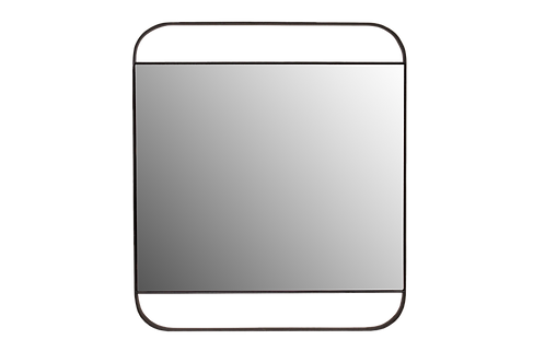 Modern Industrial Square Mirror