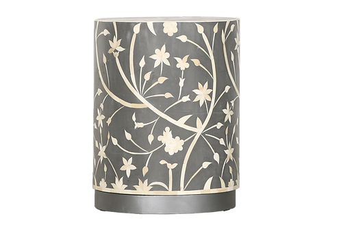 Camille Bone Inlay Accent Table