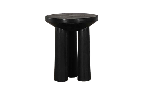 Grant Solid Wood Tri Leg Accent Table