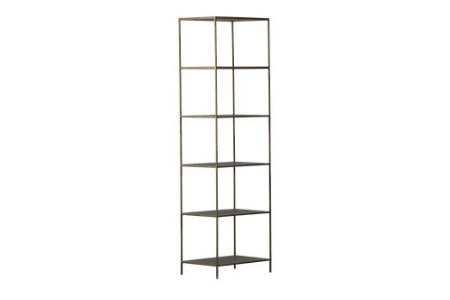 Londyn 5 Shelf Iron Shelving Unit