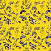 Atlanta Snack Club logo pattern