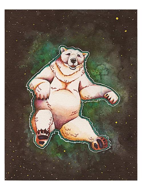 Art Print 8x10: Solarbear