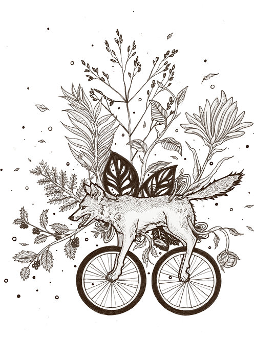 Art Print 8x10: ITP Wilds