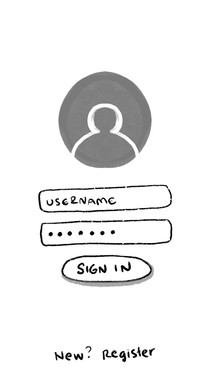 2. Sign-in page