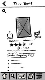7. Recipe Detail Page, Saved