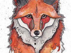Quilted Fox