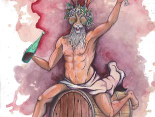 Barrel Rider Wine Label