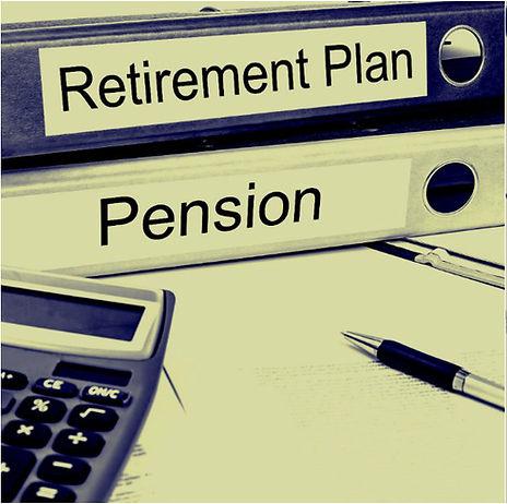 Retirement Plan and Pension binders versus Collapse