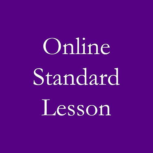 Online Standard Lesson