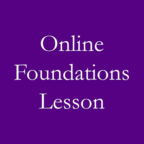 Online Foundations Lesson