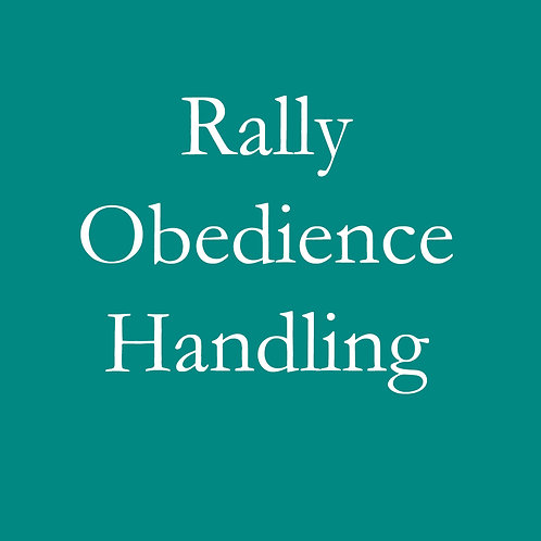 Rally Obedience Handling