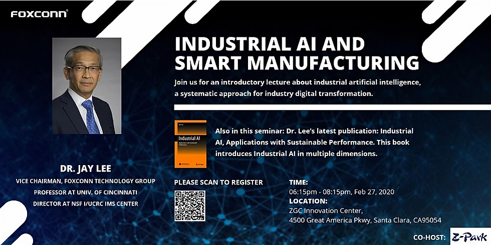 Industrial AI and Smart Manufacturing