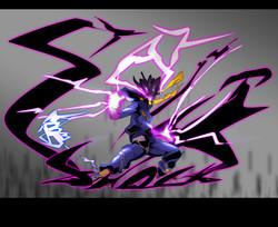 Static shock/ Black lightning
