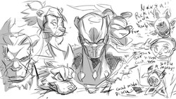More daily sketches