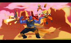 Goku vs Thanos