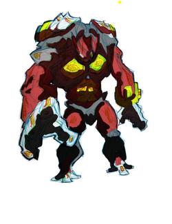 Iron monster