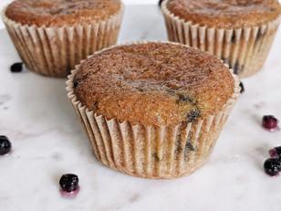 GAPS Blueberry Muffins (Almond Flour)