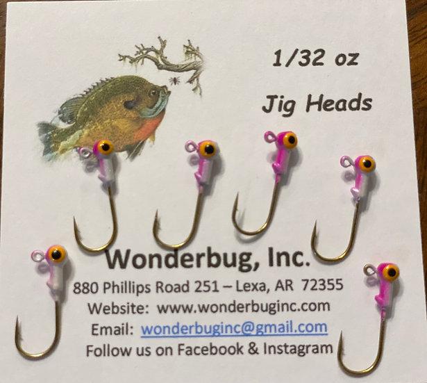 Jig Heads - Purple/White