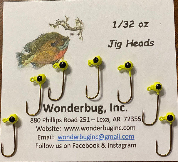 Jig Heads - Chartreuse