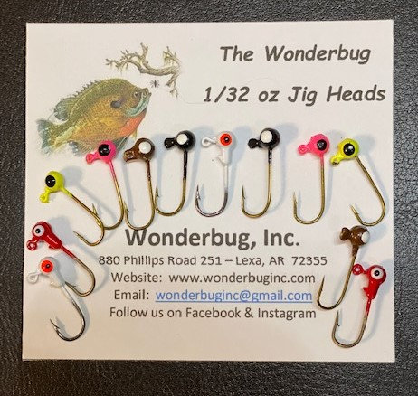 Jig Heads - Assorted Colors