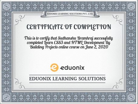 certificate-Learn-CSS3-and-HTML-Developm