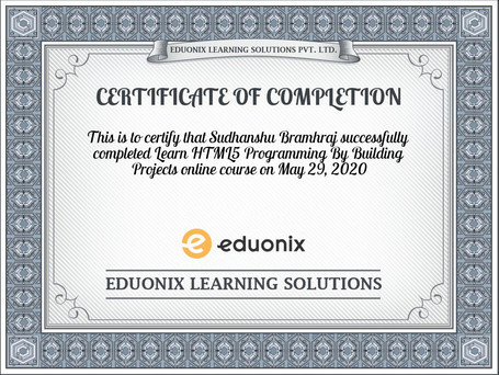 certificate-Learn-HTML5-Programming-By-B
