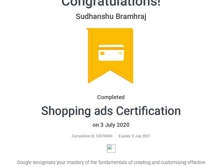 Shopping ads Certification _ Google-page