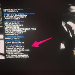 Name Credits