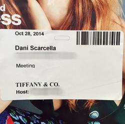 Tiffany & Co. Video-Shoot