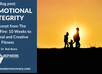 On Emotional Integrity – An excerpt from The Creative Fire: 10 Weeks to Emotional and Creative