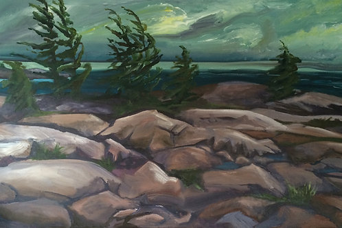 Georgian Bay rocks