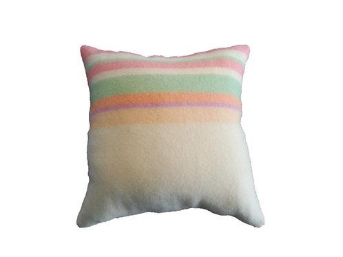 Wool Collection - Sherbert & Cream Pillow
