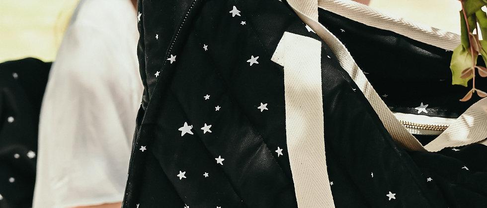 Black Stars Beach Bag