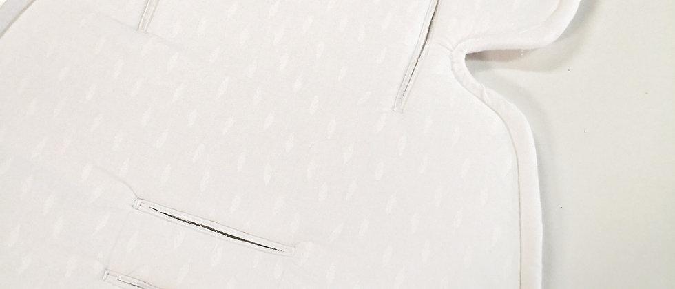 Pure White προστατευτικό κάλυµµα καροτσιού