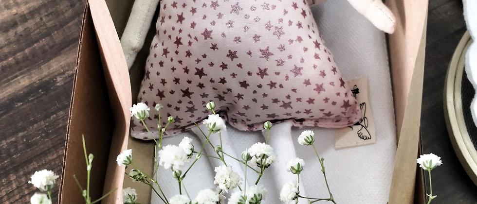 Angel Pink Glitter Stars