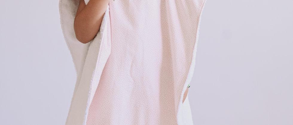 Pink Drops Poncho