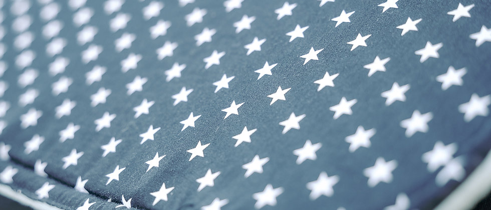 Black Stars Κάλυμμα καροτσιού