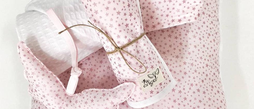 Glitter Stars Pink