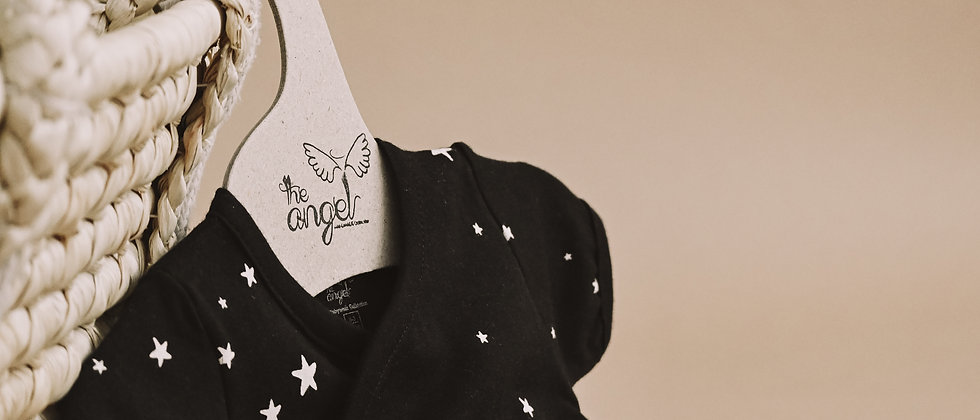 Μπλουζάκι  Κοντομάνικο Κρουαζέ Black Stars