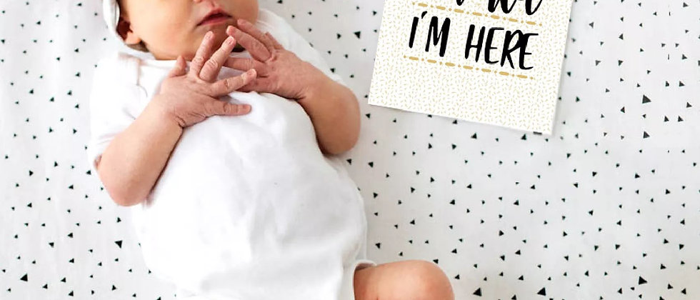 Baby's 1st Year Milestone Cards