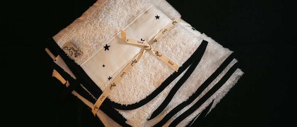 White Stars Σετ πετσέτες