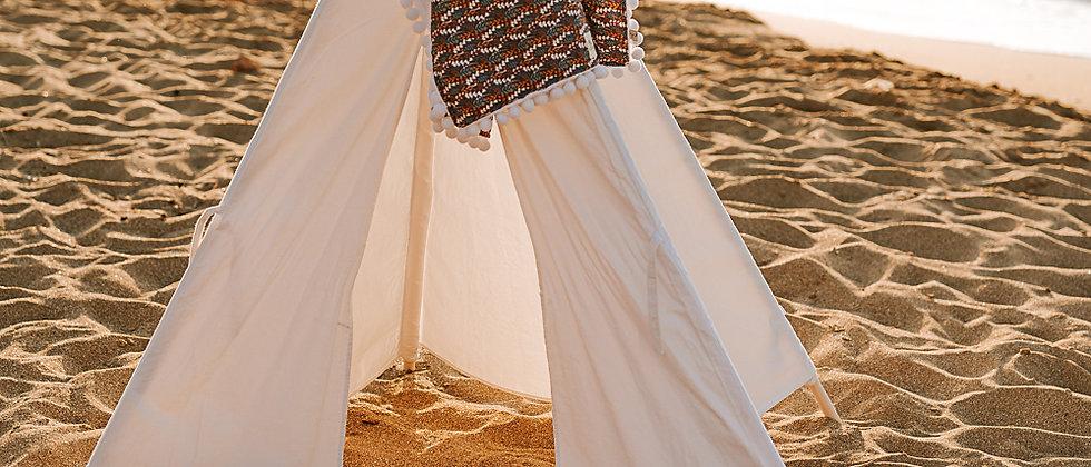 Wind Flowers Beach Towel