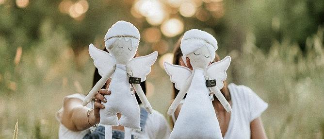 Angel White Velvet