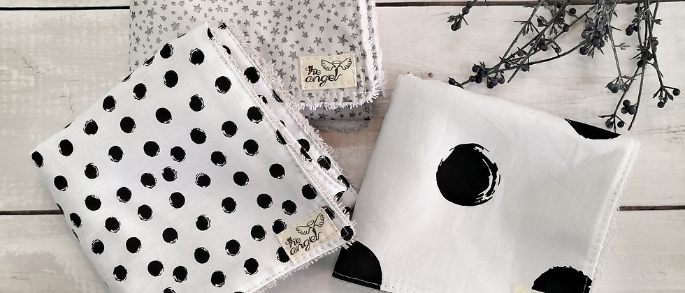 Dots Grey - small towels set