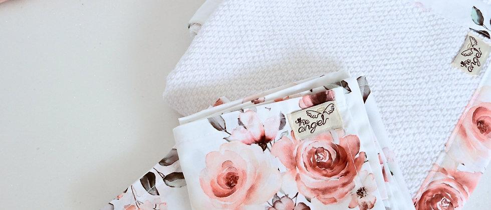 Rose Garden Σετ mini σεντονάκια