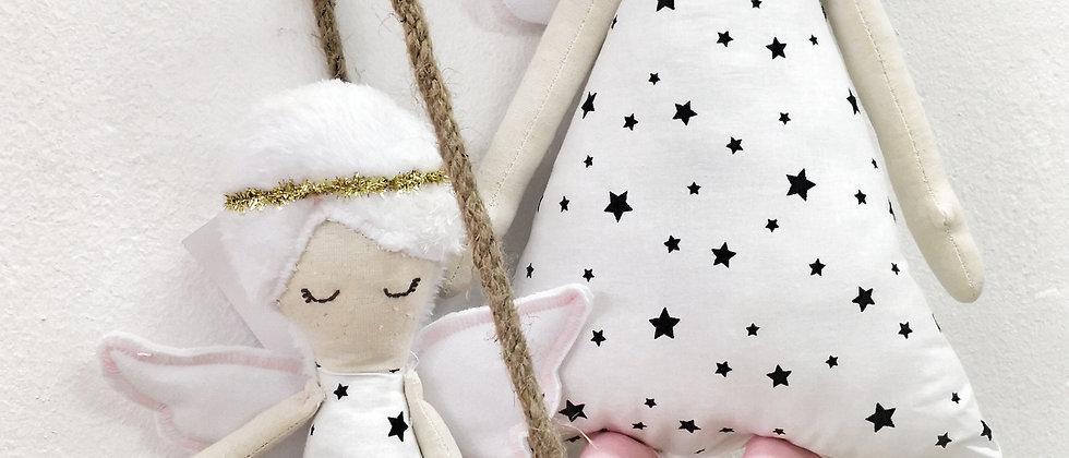 Angel White Stars