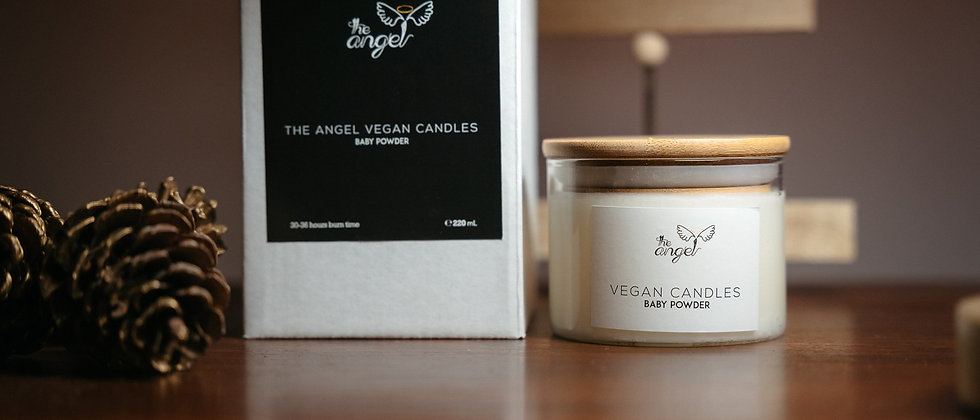 The Angel Vegan Candles